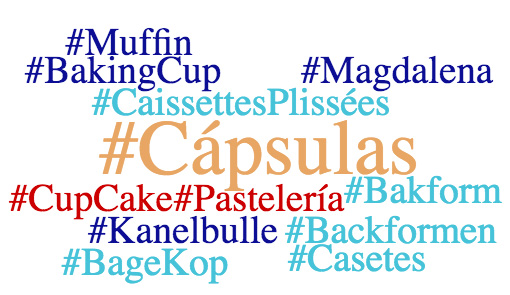 Muffin - Baking cups - Magdalena